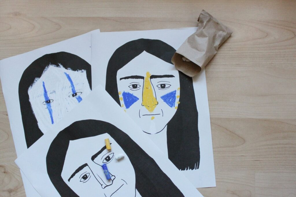 Inidán – navrhni malování na obličej