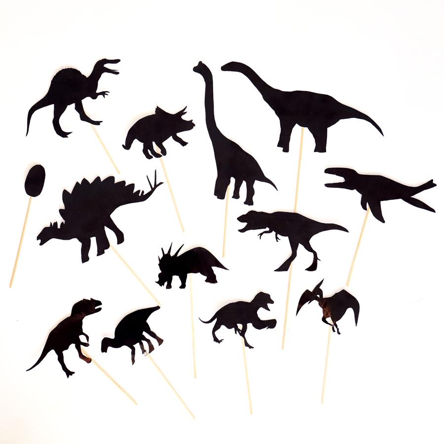 *NOVÉ* Dinosauří stínové divadlo