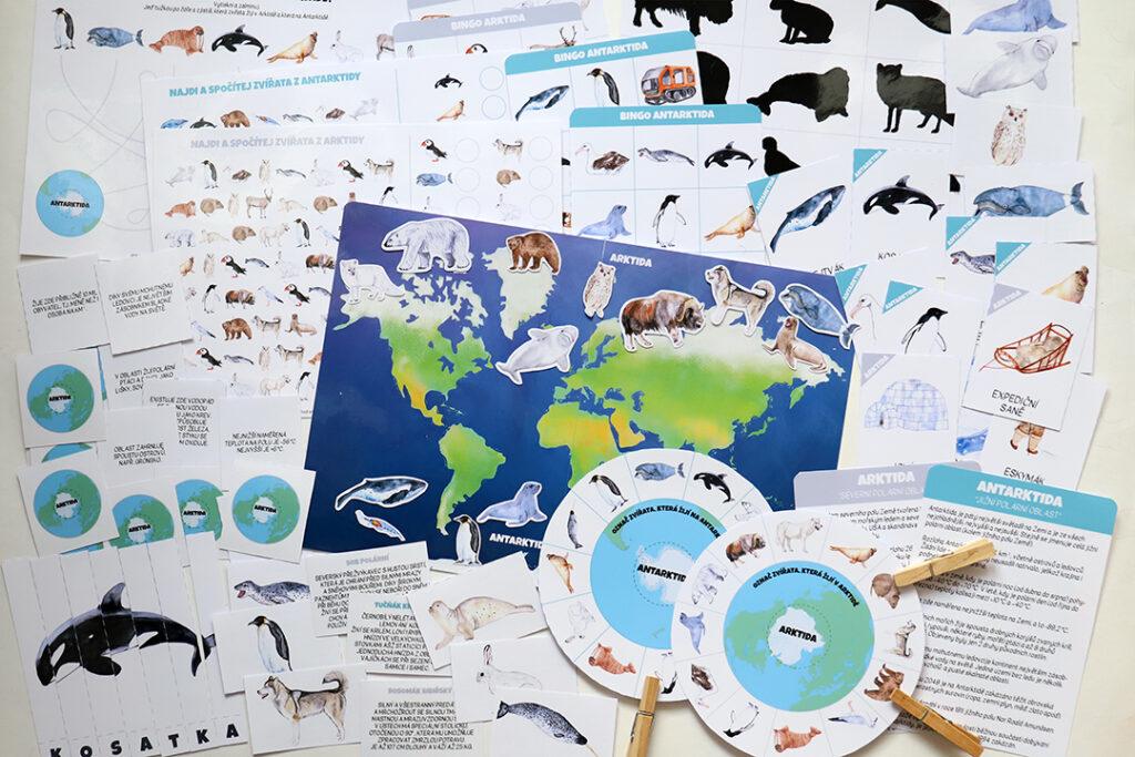 Polární oblasti 11 aktivit